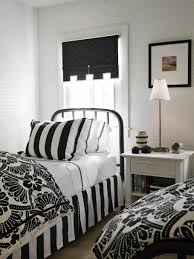 Big White Bed Pillows Big White Wardrobe Inside Black And White Bedroom With Chic Bed