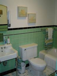Green And White Bathroom Ideas 91 Best Green 1950 U0027s Bathrooms Images On Pinterest Bathroom