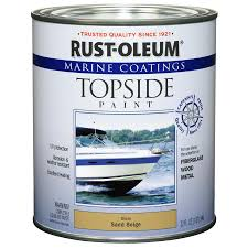 shop rust oleum marine coatings sand beige gloss enamel oil based