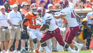 Clemson University Map On The Map Troy Gets National Attention In Loss To The Tigers