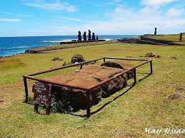 canap駸 fran軋is rapa nui 前進easter island d1