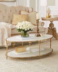 global views coffee table global views olivia marble top coffee table