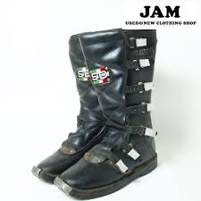used motorcycle boots vintage clothing jam rakuten global market joel robert sidi