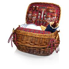 best picnic basket time highlander deluxe willow picnic basket for 4