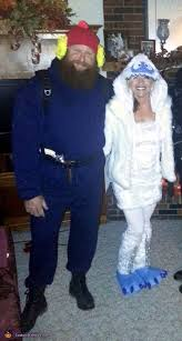 abominable snowman costume cornelius and the bumble costume