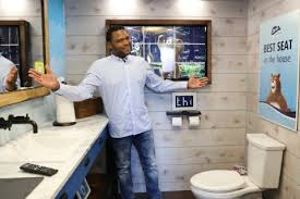 Charmin Bathroom Photos Of Charmin And Black Ish Star Anthony Anderson Unveiling