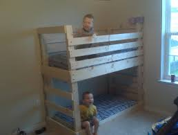 Bunk Bed Cribs Crib Size Toddler Bunk Beds Home Design Ideas