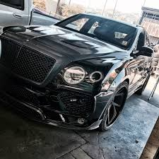 mansory bentley rdbla u2013 mansory bentley bentayga black rdb la five star tires