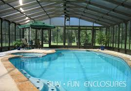 enclosed pool enclosed pool builder in houston sun fun enclosures screened pools