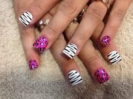25 bästa cheetah nail designs idéerna på pinterest gepardnaglar