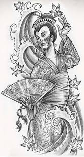 geisha free japanese geisha design tattooshunter com