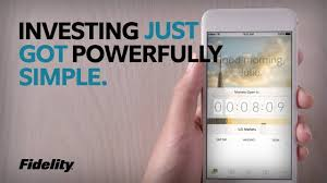 fidelity mobile app u2013 powerfully simple investing youtube