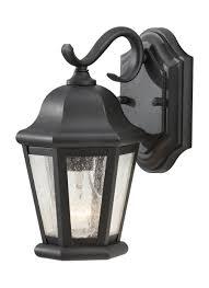 Murray Feiss Lighting Catalog Ol5902bk 1 Light Outdoor Lantern Black