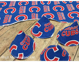 Chicago Cubs Crib Bedding Chicago Cubs Nursery Etsy