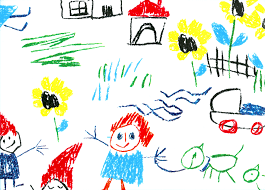 cheerful drawing of kids hand cartoon happy exprimartdesign com