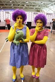 Simpsons Halloween Costumes 21 Bästa Karneval Simpsons Bilderna På