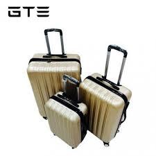 ultra light luggage sets gte big stripe ultralight luggage 3 in 1 set gold