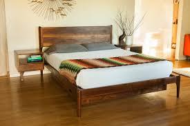 Modern Bedroom Platform Set King Bed Frames Mid Century Bedroom Set Building A Platform Bed Frame