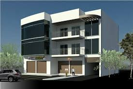 3 story building proposed storey mixed building chan design plus house plans 69297