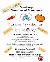 halloween club city of commerce simsbury chamber of commerce announces halloween event and chili