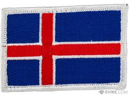 Flag Iceland Matrix Hook And Loop Morale Patch Country Iceland Evike Com