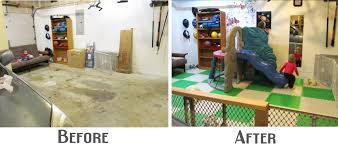 Garage Rooms by Lightbulb Books Garage Playland