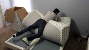 Memory Foam Mattress Sofa Bed by Can You Put A Memory Foam Mattress Back In The Box Youtube