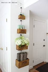 Wall Decor For Kitchen Ideas Best 25 Wine Crate Decor Ideas On Pinterest Wine Crates Wine