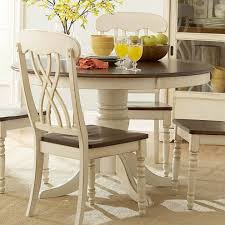 winsome antique white kitchen table simple distressed round dining