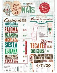 great drinks menu design montreal local love pinterest