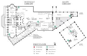 suzzallo and allen first floor map u2014 uw libraries