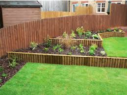 Small Sloped Garden Design Ideas Sloping Garden Design Garden Completed Borders Sloping Garden