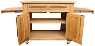 butcher block kitchen island cart catskill 1480 empire mobile butcher block kitchen cart
