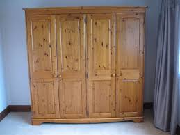 Country Pine Furniture Pine Wardrobe Four Door By Lovelace Country Furniture In Witney