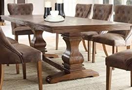 on dining table sets for best trestle dining room table home
