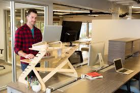 standing laptop desk portable stand up desk for laptop readydesk