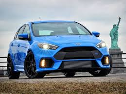 ford u0027s scorching focus rs is now rated at 350 hp