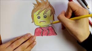 kolorowanka kai lego ninjago coloring pages for kids kai lego
