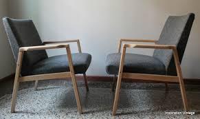 fauteuil design tissu fauteuils 70 s design scandinave inspiration vintage