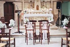 decoration eglise pour mariage idée décoration eglise pour mariage