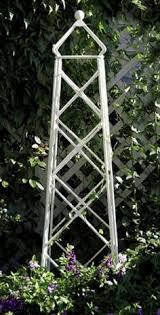 Obelisk Trellis Metal Bird Trellis Charloantas Pinterest Gardens Garden Ideas And