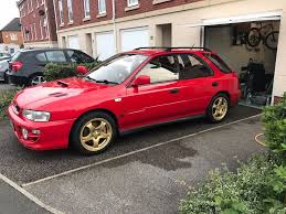subaru rsti wagon subaru impreza wrx sti wagon estate jdm import version 1 1994