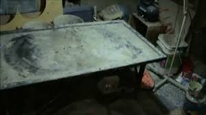 Concrete Tables For Sale Vibrating Table For Concrete Molds Youtube
