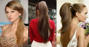 hairstyles for horses shown beautiful horse tail hairstyles with face shape