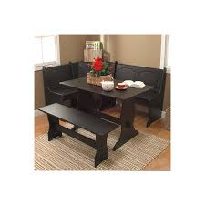shop tms furniture nook black 1 piece dining set with dining table