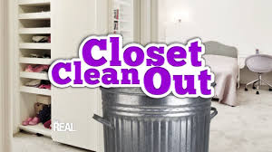 it u0027s a real closet clean out youtube