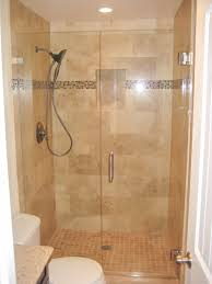 Shower Design Ideas Small Bathroom by Gray Mosaic Marble Wall Tile Paneling Walk In Bathroom Shower With
