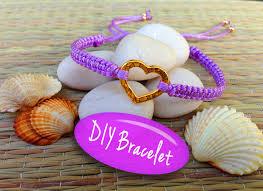 diy make bracelet images Diy bracelet bracelet making tutorial with string and a heart jpg