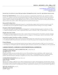 Order Management Resume Sample by Financial Planning And Analysis Resume Examples Free Resume