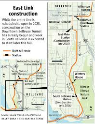 Link Light Rail Map Neighbors Worry About Mercer Slough Amid East Link Light Rail
